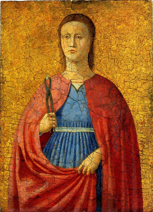 piero della francesca- sant'apollonia