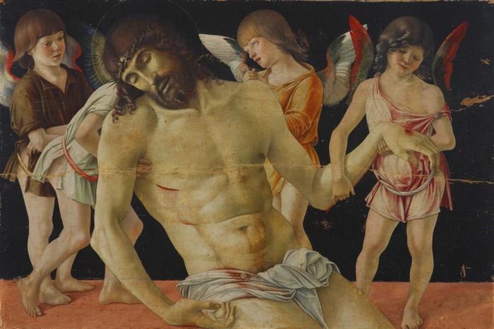 Giovanni Bellini- Il Cristo in pietà