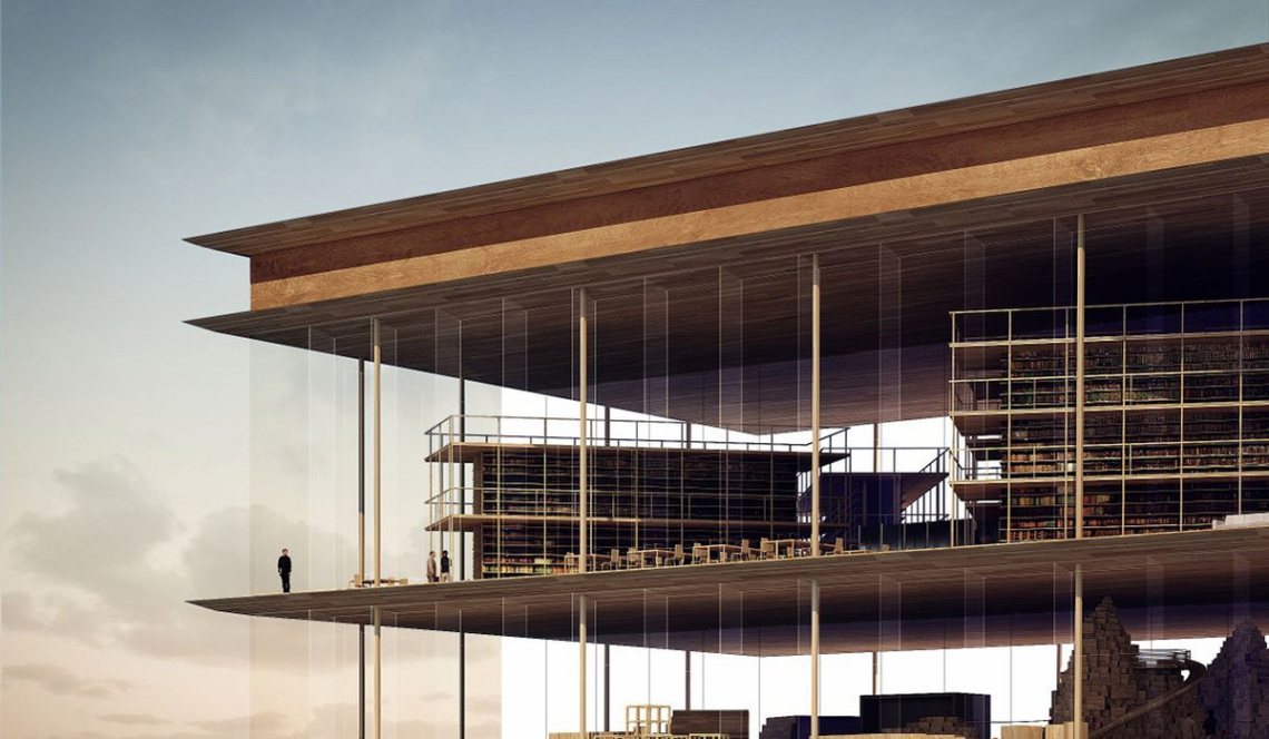 Helsinki Central Library proposal - AAKAA & MARS Architectes