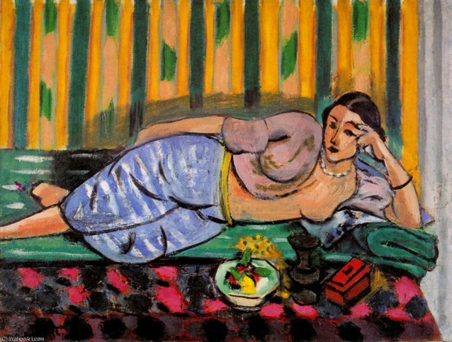 Henry Matisse, Odalisque au coffret rouge, 1927, Nice, Musée Matisse