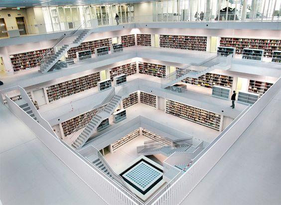 Stadtsbibliothek, Stuttgart, Deutschland - Yi Architects