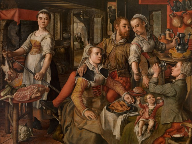 Allegory of Negligence - Joachim Beuckelaer