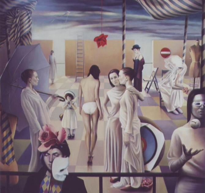 la città delle donne - cm.150X150-2001+