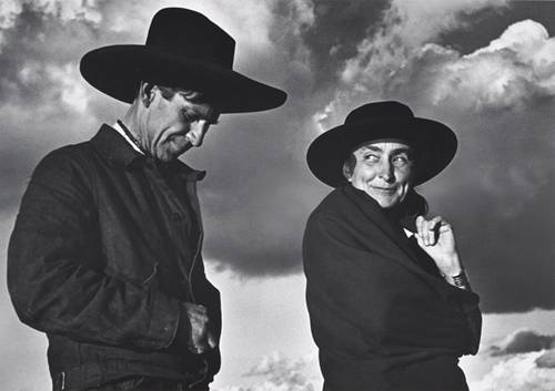 ansel-adams-georgia-okeeffe-and-orville-cox-the-canyon-de-chelly-national-monument-1937
