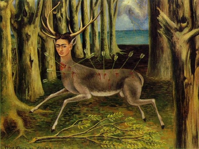 frida_kahlo_wounded_deer_postcard