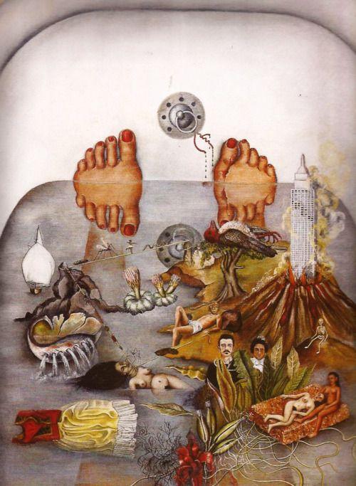 lo-que-el-agua-me-dio-frida-kahlo-coleccion-isidore-ducasse-francia-1938