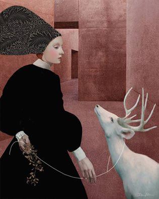 daria-petrilli-walking-with-a-white-deer
