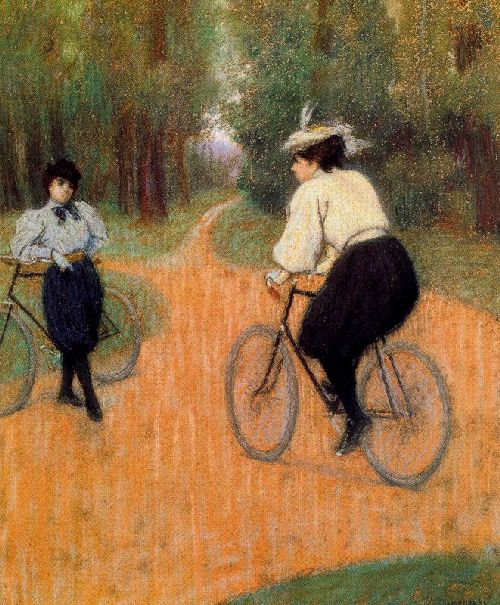 federico-zandomeneghi-xx-rencontre-a-bicyclettes-xx-private-collection