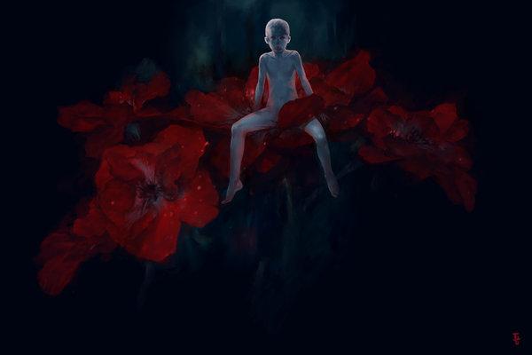 midnight_flowers_by_gunnmgally-d4b5q7l