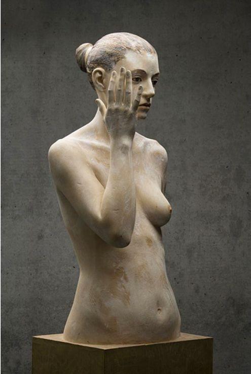 Bruno Walpoth-wood-sculpture-sculpture-garden